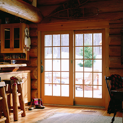 Andersen 400 Series Frenchwood 174 Gliding Patio Door Fox